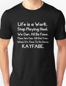 Kayfabe - Biz Terms T-Shirt