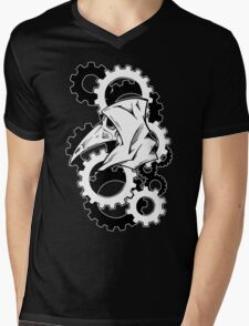 Plague Doctor Gears Mens V-Neck T-Shirt