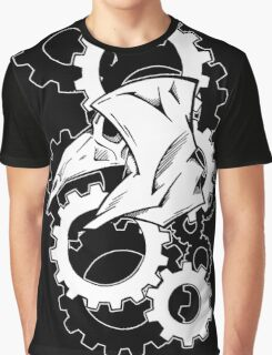 Plague Doctor Gears Graphic T-Shirt