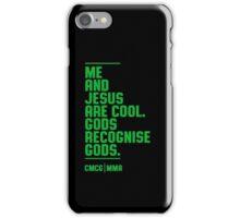 McGregor - Jesus Quote [G] iPhone Case/Skin