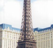 Replica Eiffel Tower, Paris Hotel, Las Vegas, Nevada  Sticker