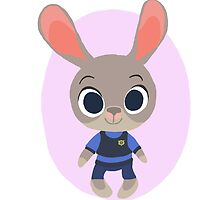 Judy Hopps: Zootopia! by EleanorMorlino