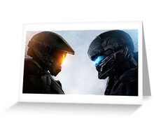 Halo 5 Epic Art Poster Greeting Card