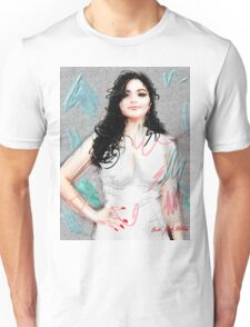 Portrait of Ariel Winter Unisex T-Shirt