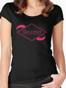 The Greatest Fan That Ever Lived Women's Fitted Scoop T-Shirt