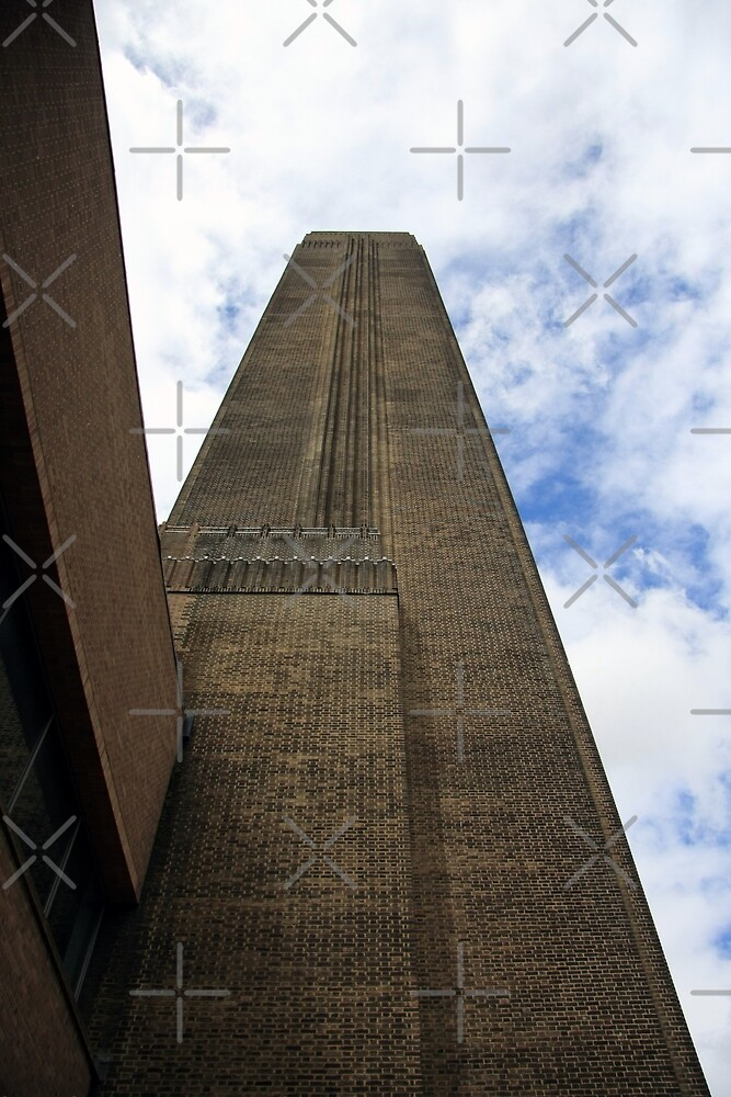 Tate modern chimney by JHMimaging