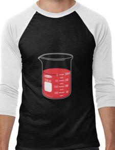 beaker elixir (strawberry) Men's Baseball ¾ T-Shirt