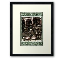Dance Macabre - by Landron Artifacts Framed Print