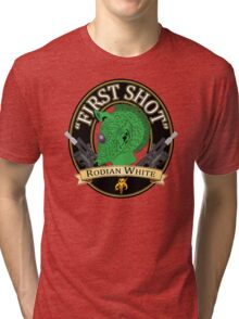 First Shot Rodian White Ale Tri-blend T-Shirt