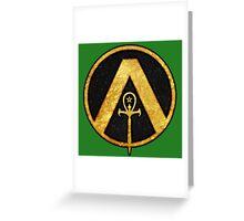 Austin Osiris Logo Greeting Card