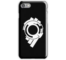Ghost in the Shell - Public Security Section 9 Logo (White Logo) iPhone Case/Skin