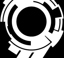Ghost in the Shell - Public Security Section 9 Logo (White Logo) by Fireseed-Josh