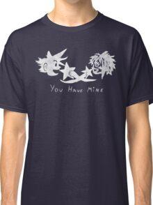 "Sora and Kairi - ""You Have Mine"" Classic T-Shirt"