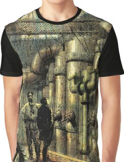 Nautilus Engine Room - by Landron Artifacts Graphic T-Shirt