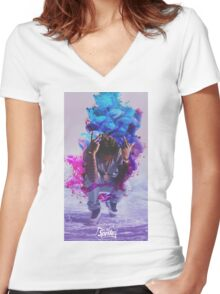 Future - Dirty Sprite 2 Women's Fitted V-Neck T-Shirt