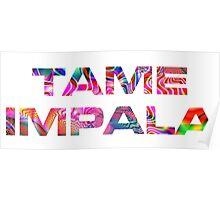 Tame Impala Lonerism Font Poster