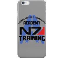 Interplanetary Combatives Academy N7 iPhone Case/Skin