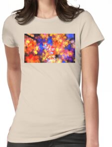 Flowering Branches Womens Fitted T-Shirt