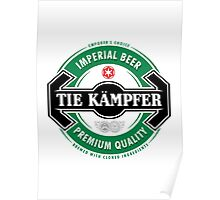 Tie Kampfer Imperial Beer Poster