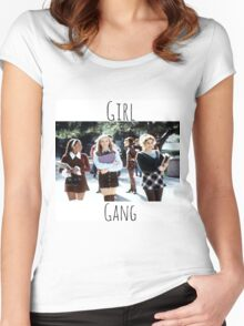 Start Your Own Girl Gang Series-Clueless Women's Fitted Scoop T-Shirt