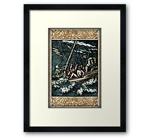 The Mariner - by Landron Artifacts Framed Print