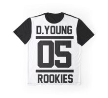 D.YOUNG 05 ROOKIES Graphic T-Shirt