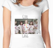 Start Your Own Girl Gang Series-Skins (UK) Women's Fitted Scoop T-Shirt