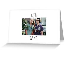 Start Your Own Girl Gang Series-Ghost World Greeting Card