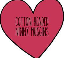 Cotton Headed Ninny Muggins by Emily Lanier