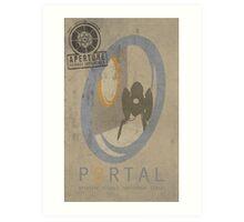 Portal Game Poster Art Print