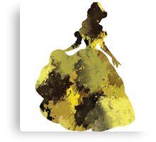 Character inspired Princess Canvas Print