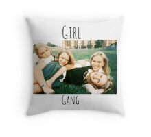 Start Your Own Girl Gang Series-The Virgin Suicides Throw Pillow