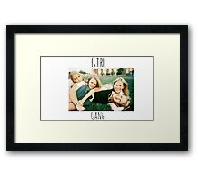 Start Your Own Girl Gang Series-The Virgin Suicides Framed Print