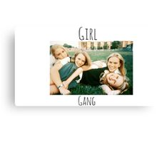 Start Your Own Girl Gang Series-The Virgin Suicides Canvas Print
