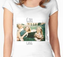 Start Your Own Girl Gang Series-The Virgin Suicides Women's Fitted Scoop T-Shirt