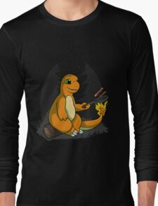 Camping with Charmander T-Shirt