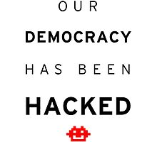 Democracy hacked by kabra23