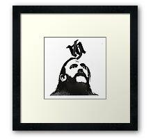 Lemmy Is Alive Framed Print