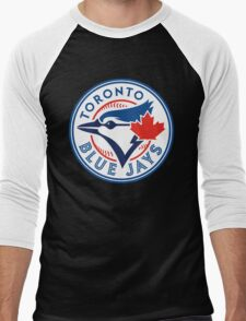 Toronto Blue Jays-Baseball Men's Baseball ¾ T-Shirt