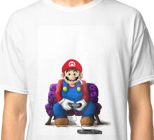 Mario's Day Off Classic T-Shirt