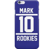 MARK 10 iPhone Case/Skin