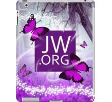 JW.ORG (Puple Butterfly and Fireflies) iPad Case/Skin