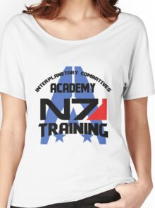 Interplanetary Combatives Academy N7 Women's Relaxed Fit T-Shirt