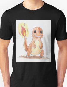 Charmander Watercolour T-Shirt