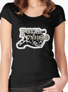 royal enfield nice Women's Fitted Scoop T-Shirt