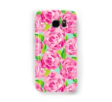 Pink Floral Samsung Galaxy Case/Skin