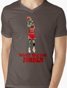 Money tall like Jordan Mens V-Neck T-Shirt