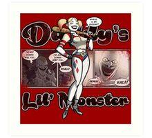 Lil' Monster Art Print