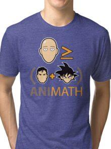 AniMath Tri-blend T-Shirt