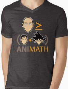 AniMath Mens V-Neck T-Shirt